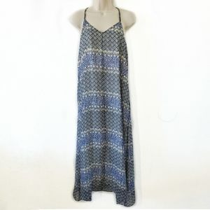 Madewell Moroccan Tile Maxi Dress Blue Size S